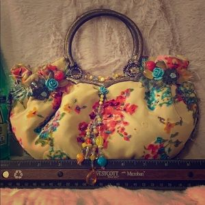Mary Frances Ring handle purse